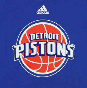 Blue adidas Detroit Pistons NBA Big Boys Chosen Few Illuminator Shorts