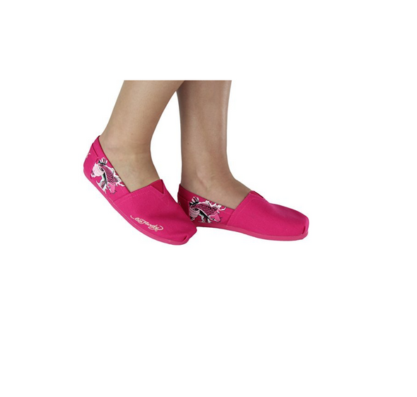 Ed Hardy Women's Bahamas Slip-On - Fuchsia