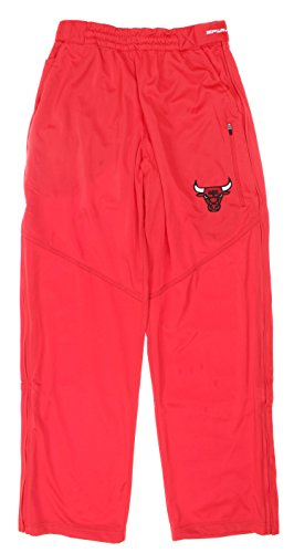 Zipway NBA Youth Boys Chicago Bulls Ruler Lounge Basketball Pants, Red