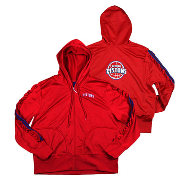 NBA Detroit Pistons Reebok Junior's Hoodie, Red
