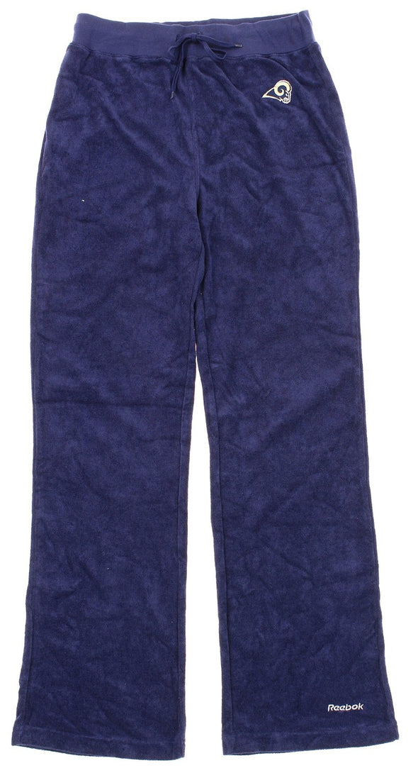 Reebok NFL Women's St. Louis Rams Terry Cloth Pants, Navy