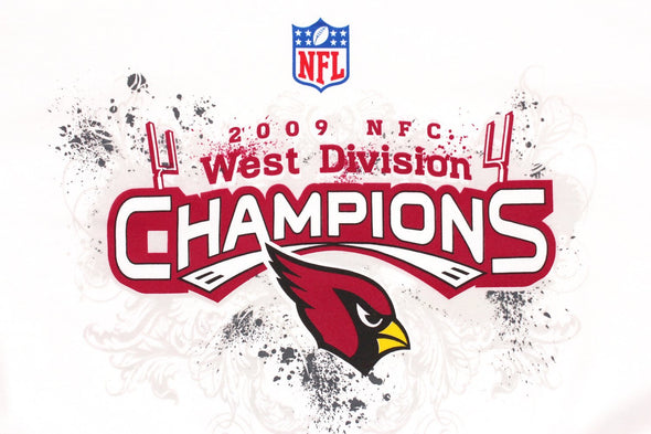 Reebok Arizona Cardinals NFL Women's 2009 NFC West Division Champions Tee