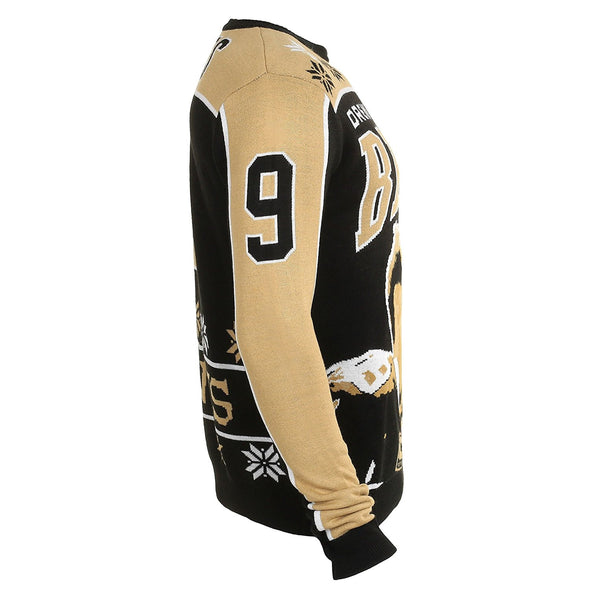 KLEW NFL Men's New Orleans Saints Drew Brees #9 Ugly Sweater