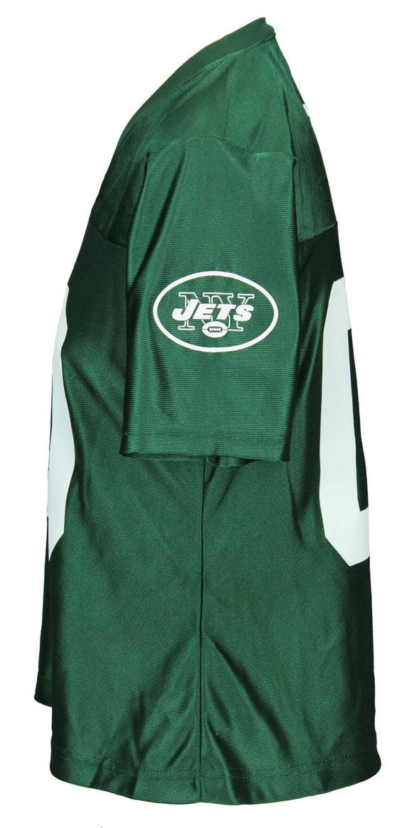 Outerstuff NFL Women's New York Jets 00 Dazzle Jersey, Green