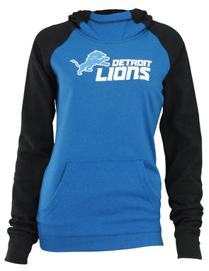 Outerstuff Girls Detroit Lions Long Sleeve Hoodie