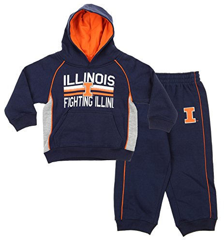 Gen 2 NCAA Kids/Toddlers Illinois Fighting Illini 2-piece Hoodie and Pants Set