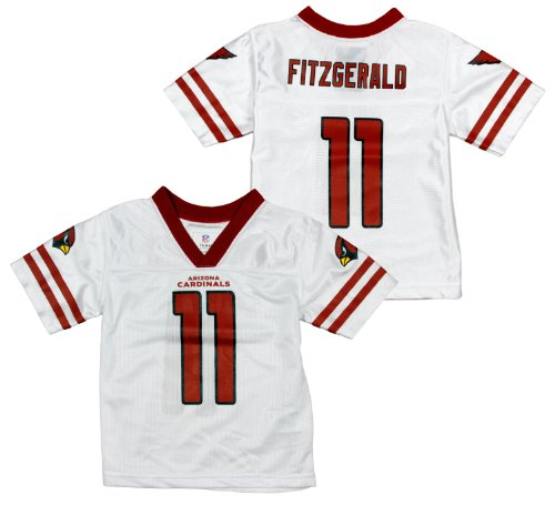 wholesale dealer 08722 71cf8 NFL Football Toddlers Arizona Cardinals Larry Fitzgerald # 11 Dazzle Jersey