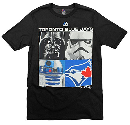 MLB Youth Toronto Blue Jays Star Wars Main Character T-Shirt, Black