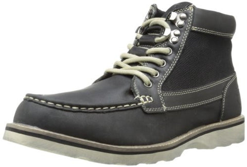 Stacy Adams Men's Midland Fashion Lace Up Casual Boots, Black