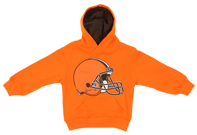 Outerstuff NFL Toddlers Cleveland Browns Prime Fleece Pullover Hoodie