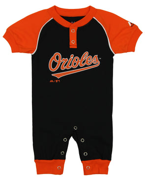 Majestic MLB Infant Girls Baltimore Orioles Great Catch Hoodie and Pant Set