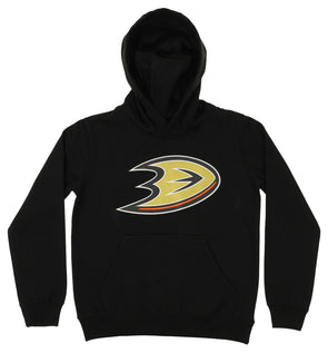 Black OuterStuff NHL Infant and Toddler/'s Anaheim Ducks Fleece Hoodie