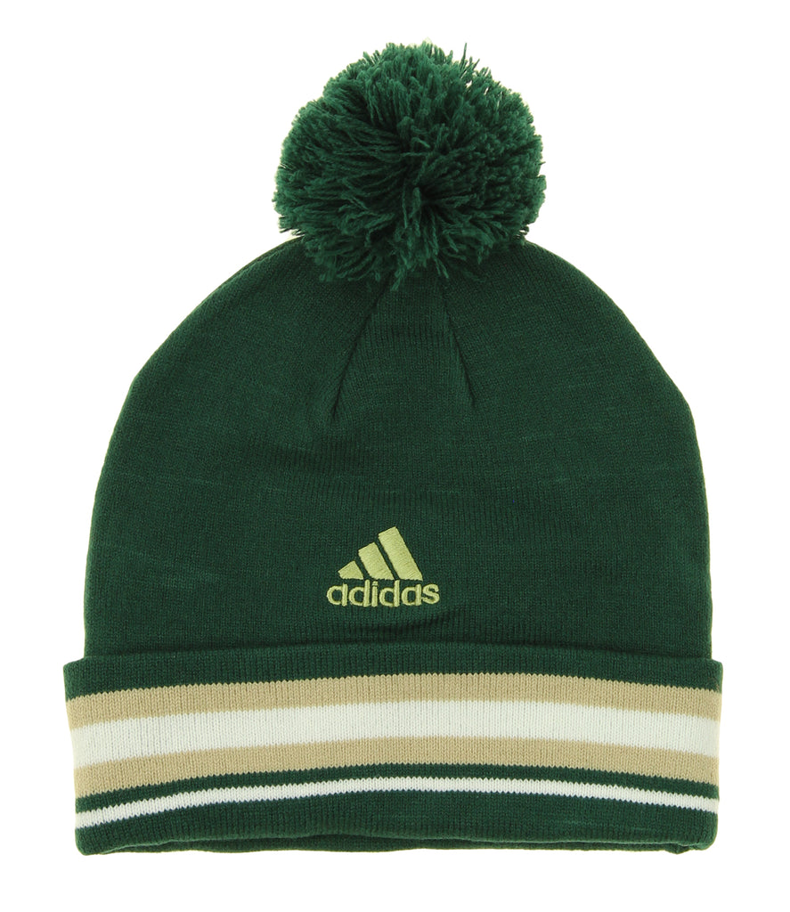 c8055d01df4 ... low price adidas nba youth milwaukee bucks cuffed knit hat with pom  green ccd89 00566