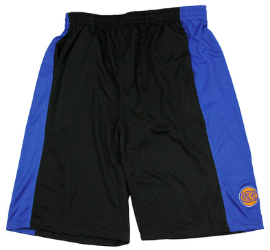 Zipway NBA Basketball Big & Tall Men's New York Knicks Malone Shorts - Black