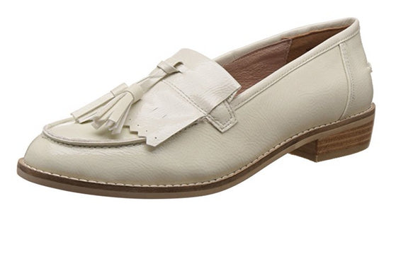 Steve Madden Women's Meela Mary Jane Loafer Flats, Color Variations