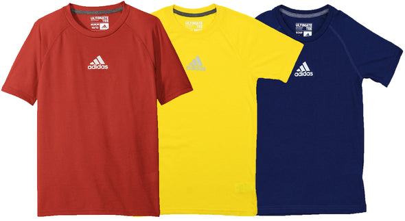 Adidas Youth Climalite Short Sleeve Graphic Tee, Color Options