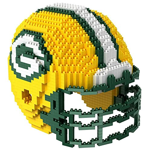 NFL Green Bay Packers Mini BRXLZ Helmet Building Blocks