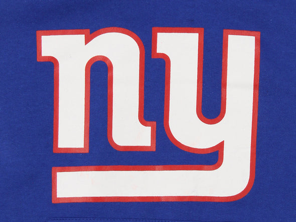 OuterStuff NFL Youth New York Giants Primary Logo Team Fleece Hoodie, Blue