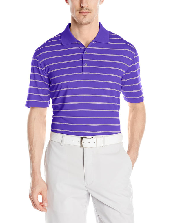Adidas Golf Men's Classic 2 Color Stripe Polo Shirt Top - Many Colors