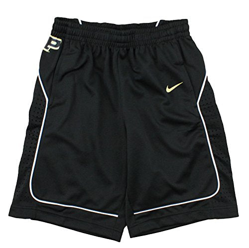 Nike NCAA College Youth Purdue Boilermakers On-Court Replica Shorts, Black