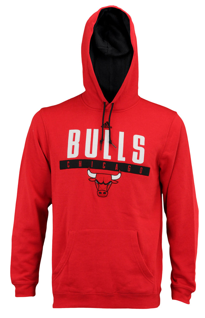 Wholesale Adidas Men's Chicago Bulls Tipoff Playbook Pullover Hoodie, Red  for sale