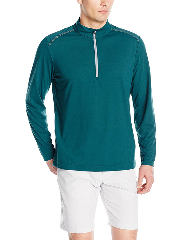 Adidas Golf Men's Adi Ultra Lightweight Upf 1/4 Zip Jacket, Color Options