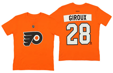 79b5a455c Reebok NHL Youth Philadelphia Flyers Claude Giroux  28 Player Tee Shirt