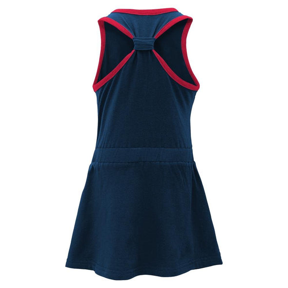 Outerstuff MLB Infant Girls Atlanta Braves Cris Cross Tank Dress