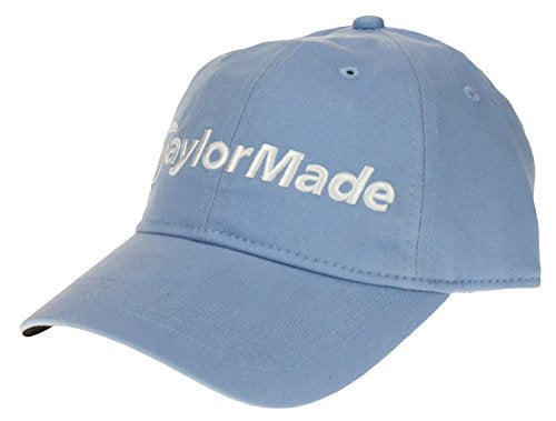 Taylormade Ladies Core Side Hit Relaxed Adjustable Hat, Light Blue