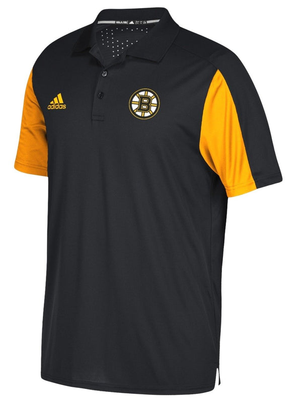 Adidas NHL Men's Boston Bruins 2017 Authentic Game Day Polo Shirt
