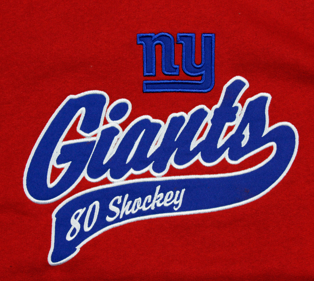 Reebok NFL Football Men s New York Giants Jeremy Shockey   80 Hoodie ... 02e3f92ab