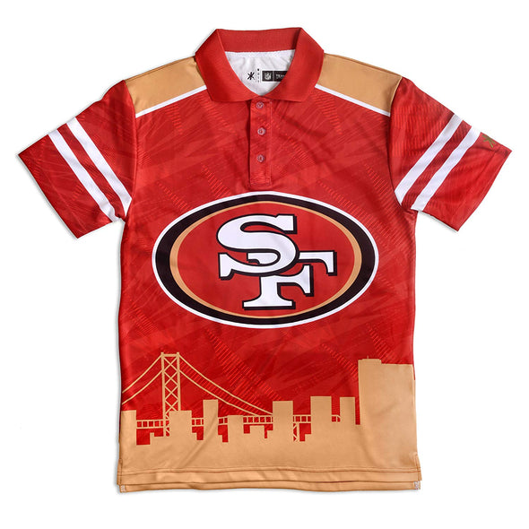 Forever Collectibles NFL Men's San Francisco 49ers Thematic Polo Shirt