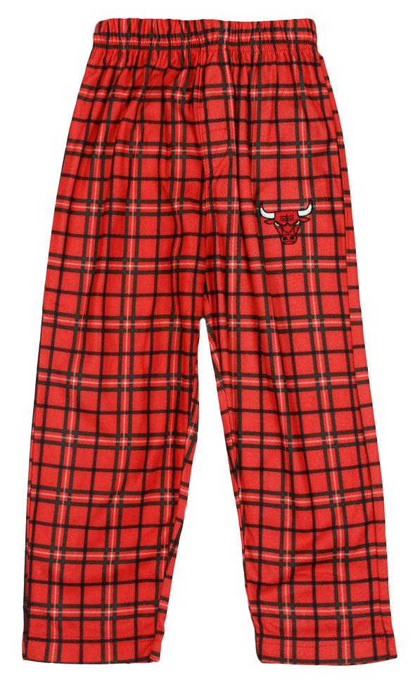 NBA Basketball Toddlers Chicago Bulls Lounge Pajama Pants - Red