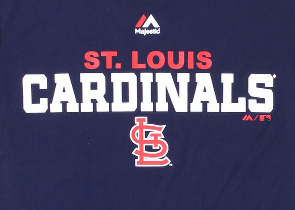 Outerstuff MLB Kids St. Louis Cardinals Roll Call Performance Tee Shirt, Navy
