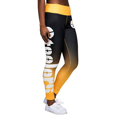 Forever Collectibles NFL Women's Pittsburgh Steelers Gradient 2.0 Wordmark Legging
