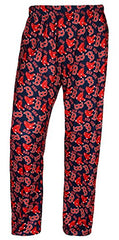 Forever Collectibles MLB Men's Boston Red Sox Repeating Logo Lounge Pajama Pants