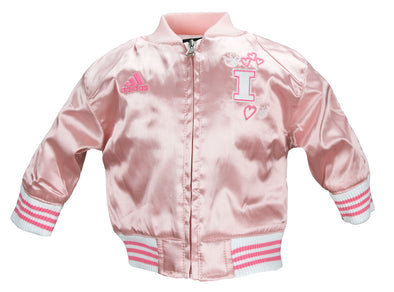Adidas Baby / Toddler Illinois Fighting Illini Varsity Cheer Jacket - Pink
