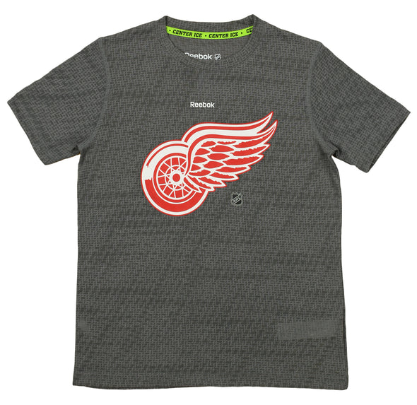 Reebok NHL Youth Detroit Red Wings Short Sleeve Logo Tee