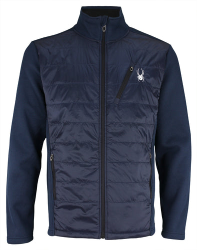 Spyder Men's Hybrid Jacket, Color Options