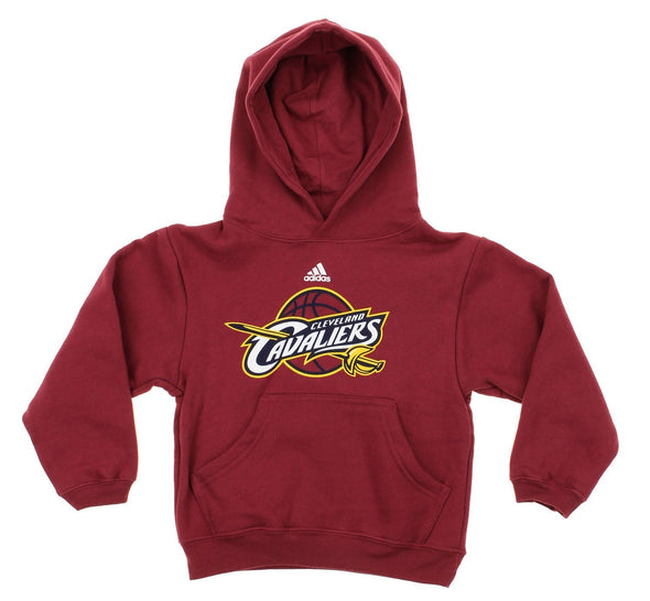 Adidas NBA Kids Cleveland Cavaliers Team Logo Pullover Hoodie