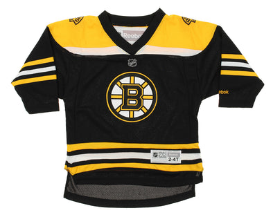 Reebok NHL Toddler/Kids Boston Bruins Team Color Replica Jersey