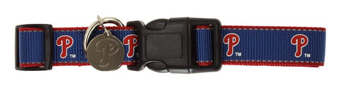 Sporty K9 MLB Philadelphia Phillies Reflective Dog Collar