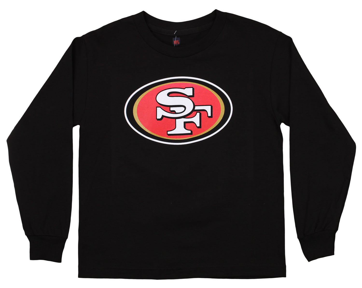 Outerstuff NFL Youth San Francisco 49ers Long Sleeve Team Logo Tee