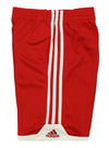 Adidas Youth Key Item Shorts, Scarlet Red/White