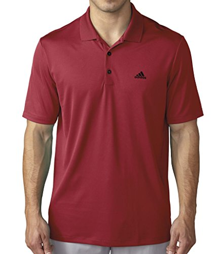 adidas Golf Men's Branded Performance Polo Short Sleeve Shirt, Several Colors