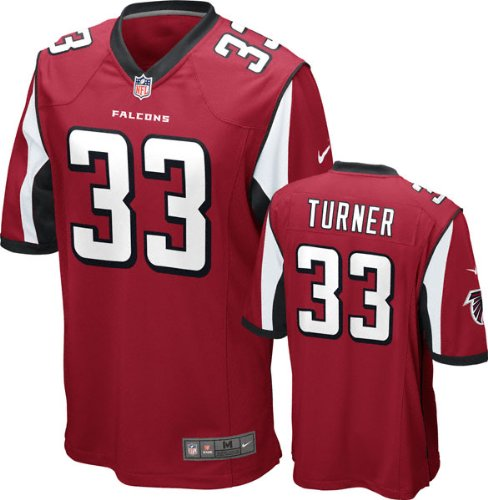 hot sale online 03433 d05e6 Nike NFL Football Youth Atlanta Falcons Michael Turner #33 Game Jersey