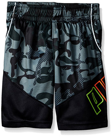 PUMA Kids/Youth Active Shorts, Army Green