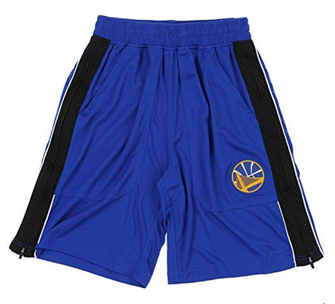 Zipway NBA Men's Golden State Warriors Tommy Athletic Shorts, Blue