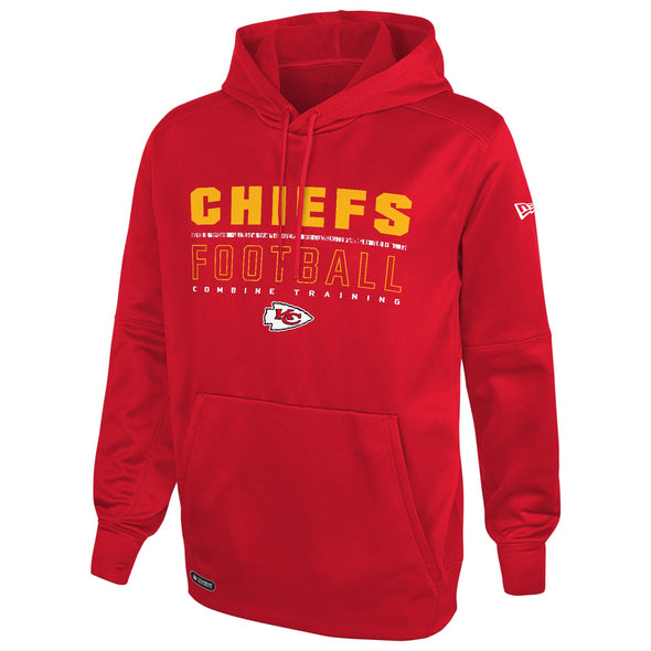 New Era NFL Men's Kansas City Chiefs Audible Pullover Performance Hoodie