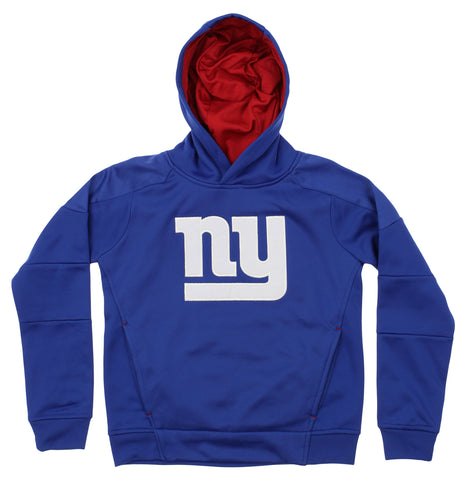 82068f7a2 OuterStuff NFL Youth New York Giants Mach Speed Pullover Hoodie